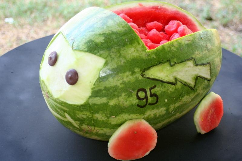 Greene acres hobby farm carve fun watermelon creations