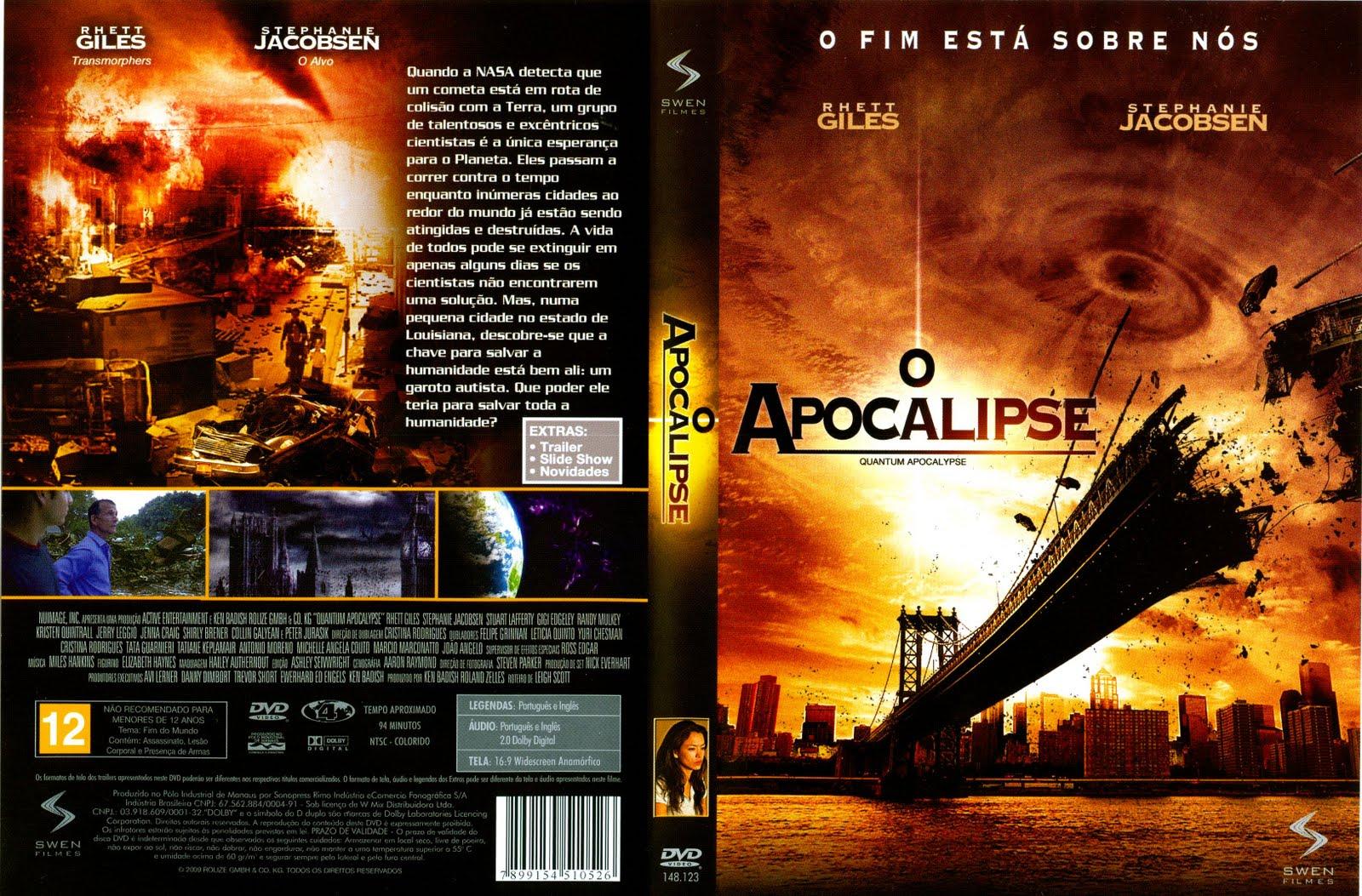 Apocalipse DVD Capa