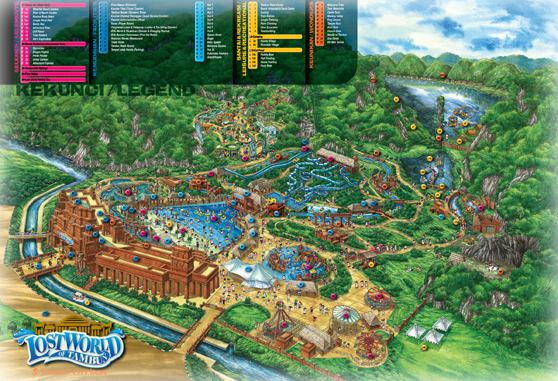 Around the world farry tales lost world of tambun 29 november 2015 park map source google gumiabroncs Choice Image