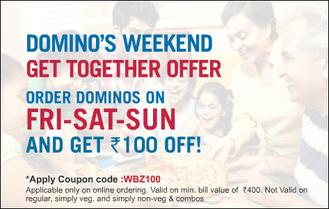Dominos discount coupons december 2019 india