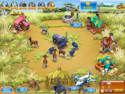 Farm Frenzy 3 Madagascar PC Games windows