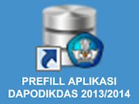 PREFILL DAPODIKDAS 2013/2014 - MENJAWAB PERTANYAAN-PERTANYAAN SEPUTAR PREFILL APLIKASI DAPODIKDAS 2013/2014