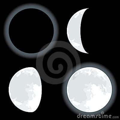 Camino Holístico La Luna Y Sus Fases