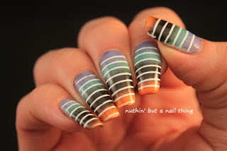 Stripe nail art ideas