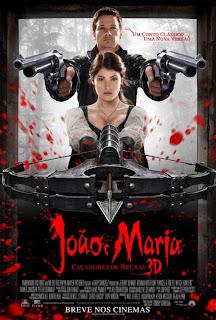 Download - João e Maria: Caçadores de Bruxas – DVDRip AVI Dual Áudio + RMVB Dublado ( 2013 )