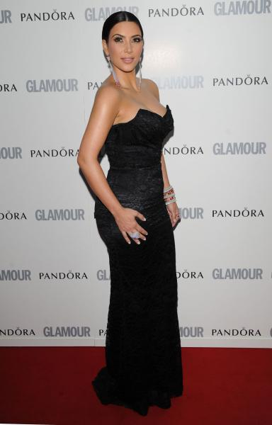 kim kardashian 2011 grammys