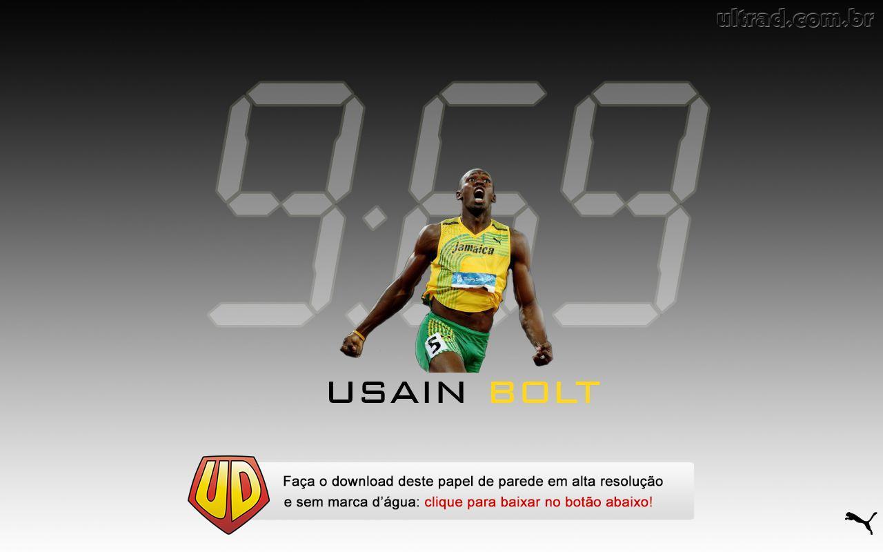 London Olympics2012 Olympicsrunnerusainyellow Tshirt Jamaica958sec963sec1919sec1932sectrack Runner Lightning Boltthunder Bolt