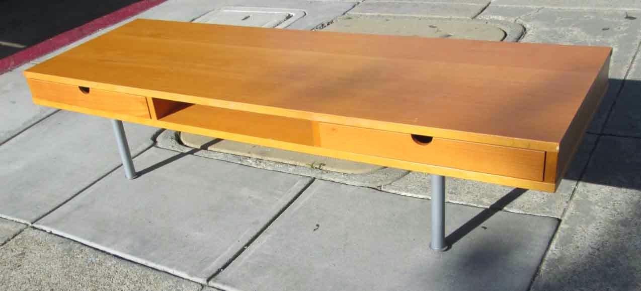 Uhuru Furniture Collectibles Sold Slim Ikea Coffee Table 45