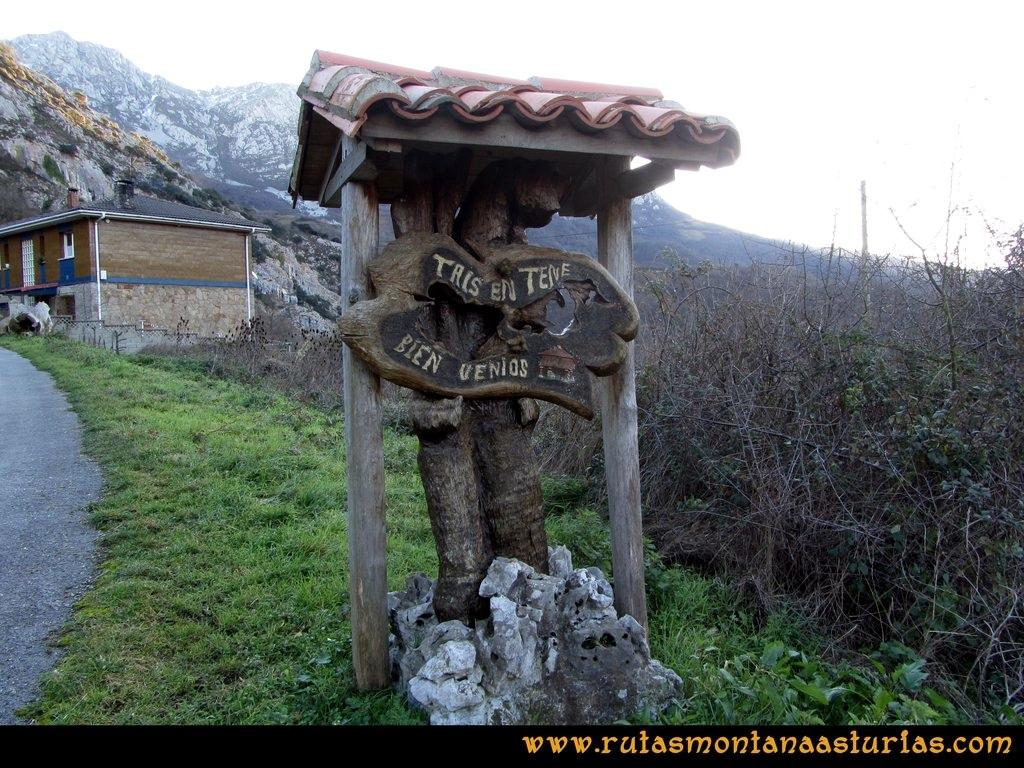 Ruta Tene, Cascorbal, Airua, Navalón: Pueblo de Tene