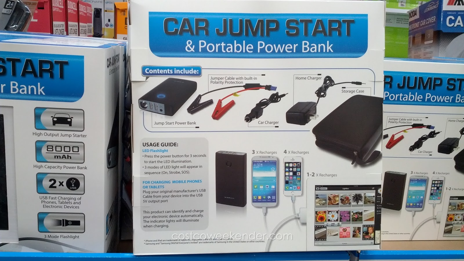 Car Jump Start and Portable Power Bank u2013 Jump starting your car has never been so & Car Jump Start and Portable Power Bank | Costco Weekender