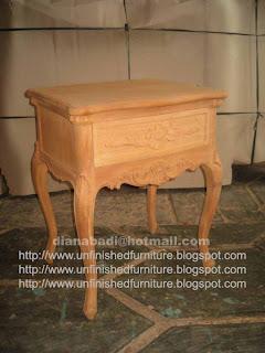 Klasik Furniture nakas klasik french bedside unfinished mebel klasik supplier jepara mebel klasik nakas klasik mentah unfinished bedside mahoni