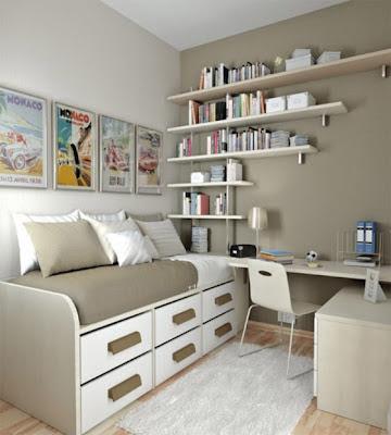 interior kamar untuk remaja putri dan putra