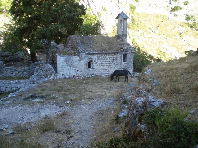 Church-behind-Kotor-Fort