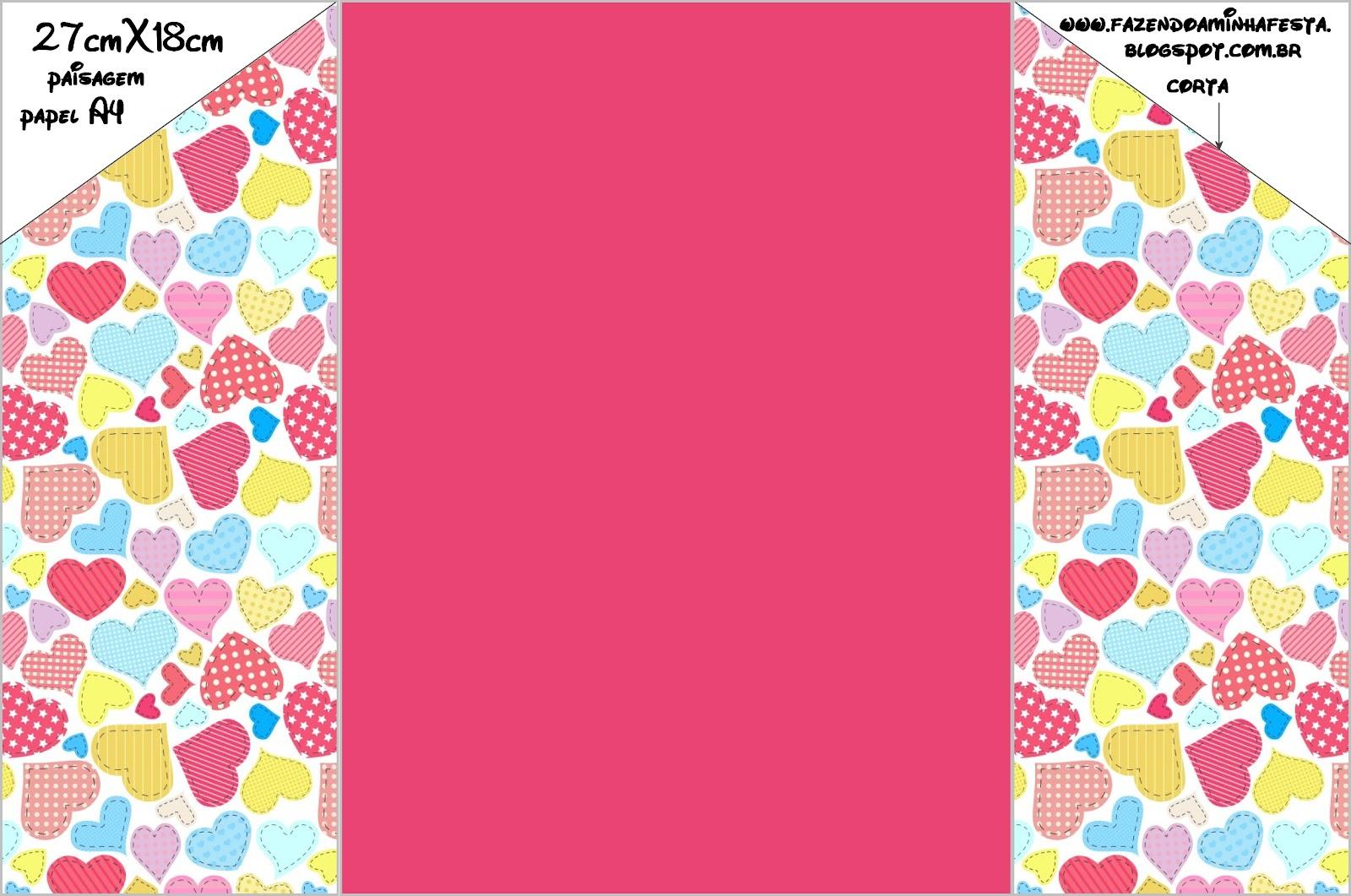 Well-known Cartões para o Dia dos Namorados com Envelope! - Fazendo a Minha Festa XZ71