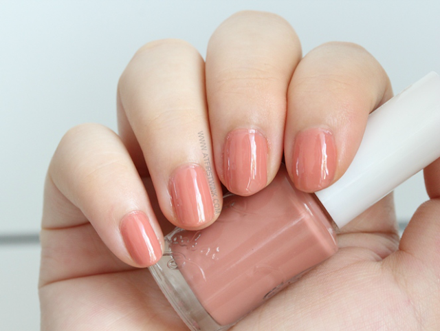 Etude House BE102 - Maple syrup nail polish review