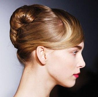 model rambut sanggul