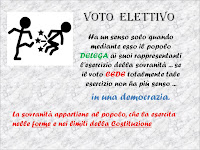 Il voto elettivo