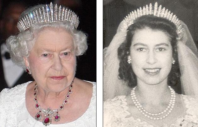 En 1936 Mary obsequió la tiara a su nuera Elizabeth, consorte de George VI.