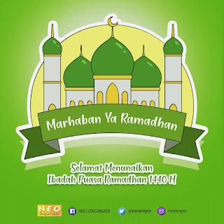 Selamat Menjalankan Ibadah Puasa Ramdhan 1440 Hijriah