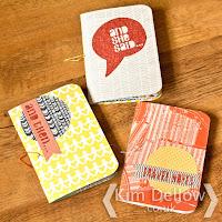 DIY Notebooks using the Cricut Explore