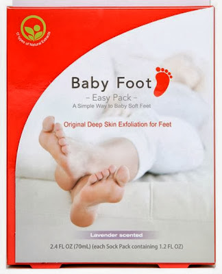 Baby Foot Peel Review and Giveaway