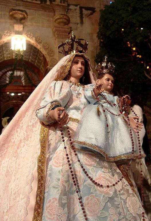 Nossa Senhora do Rosário, México.