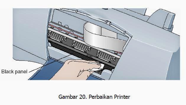 perbaikan mudah untuk printer