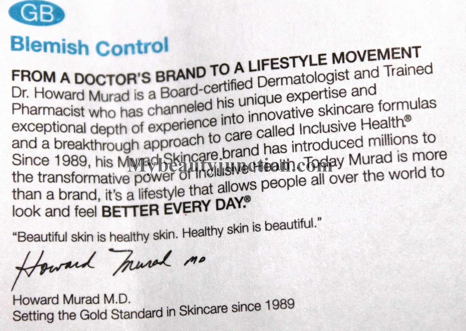 Murad Oil-Control Mattifier SPF15 review, results, photos