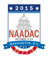 2015 NAADAC conference graphic.