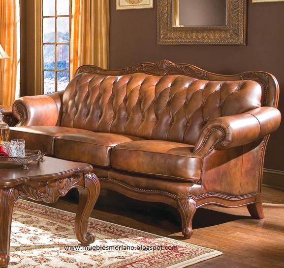 Muebles Moriano: Clasico laminado Sofá Brazo