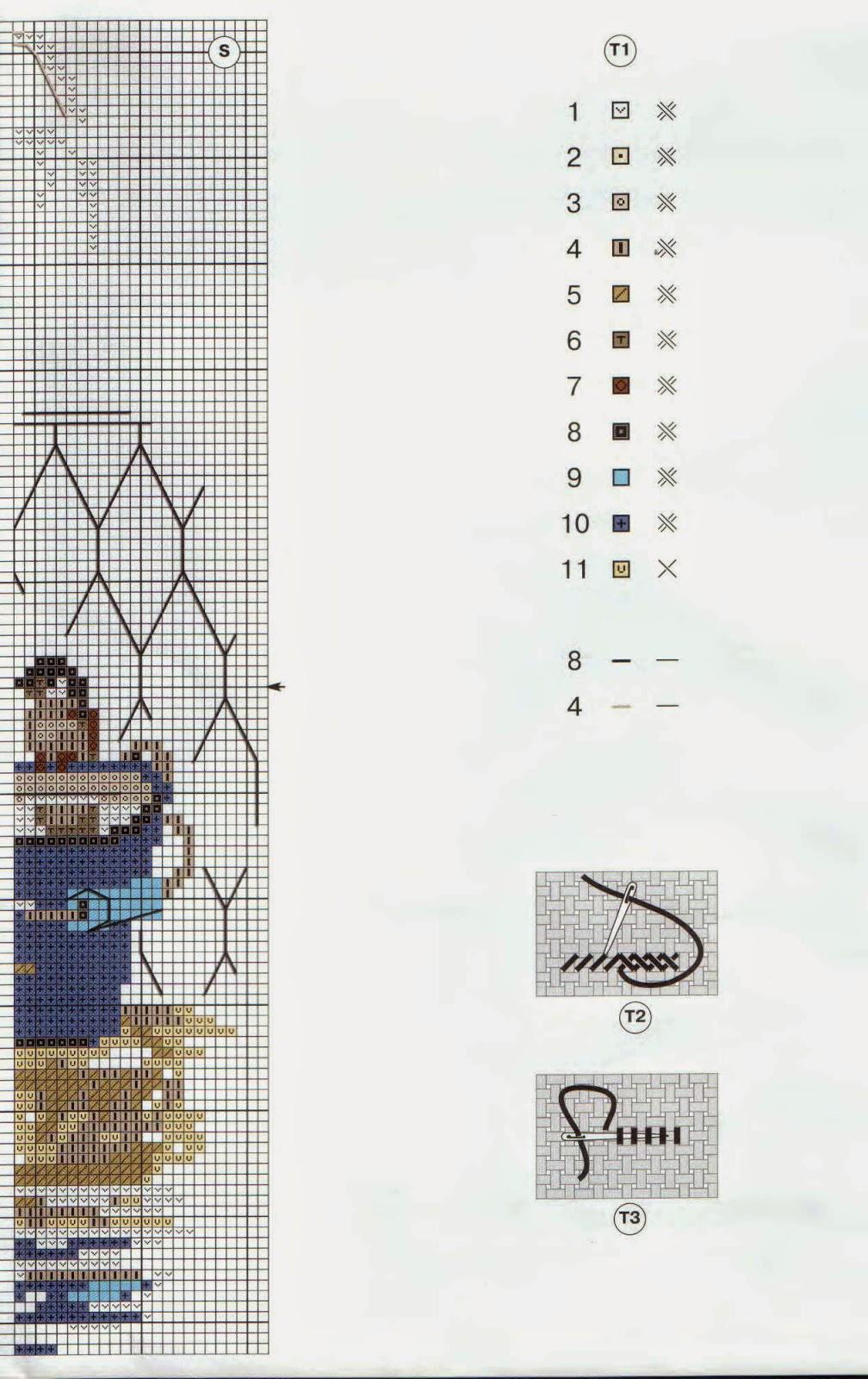 три слона на фоне горы схема для вышивки
