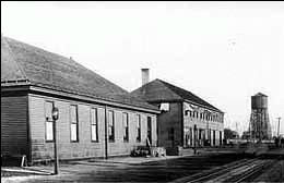 Pasco North Pacific Rail Depot 1910