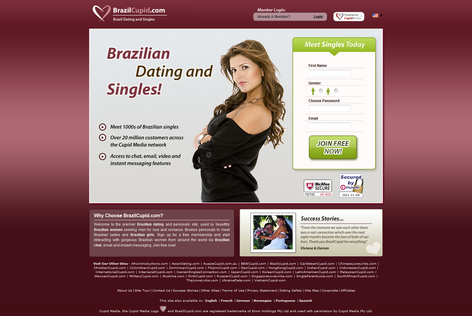 Online dating sites person