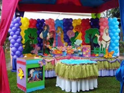 Mesas de fiestas infantiles