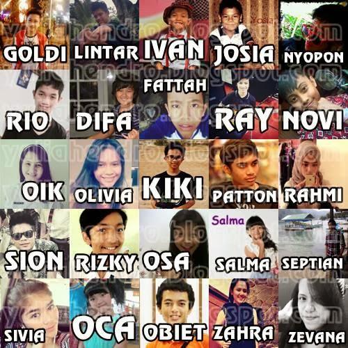 NEW PHOTOS] Goldi, Lintar, Ivan, Josia, Nyopon, Rio, Difa, Fattah ...
