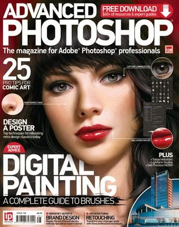 Advanced Photoshop Magazine Issue 128 Nopember 2014