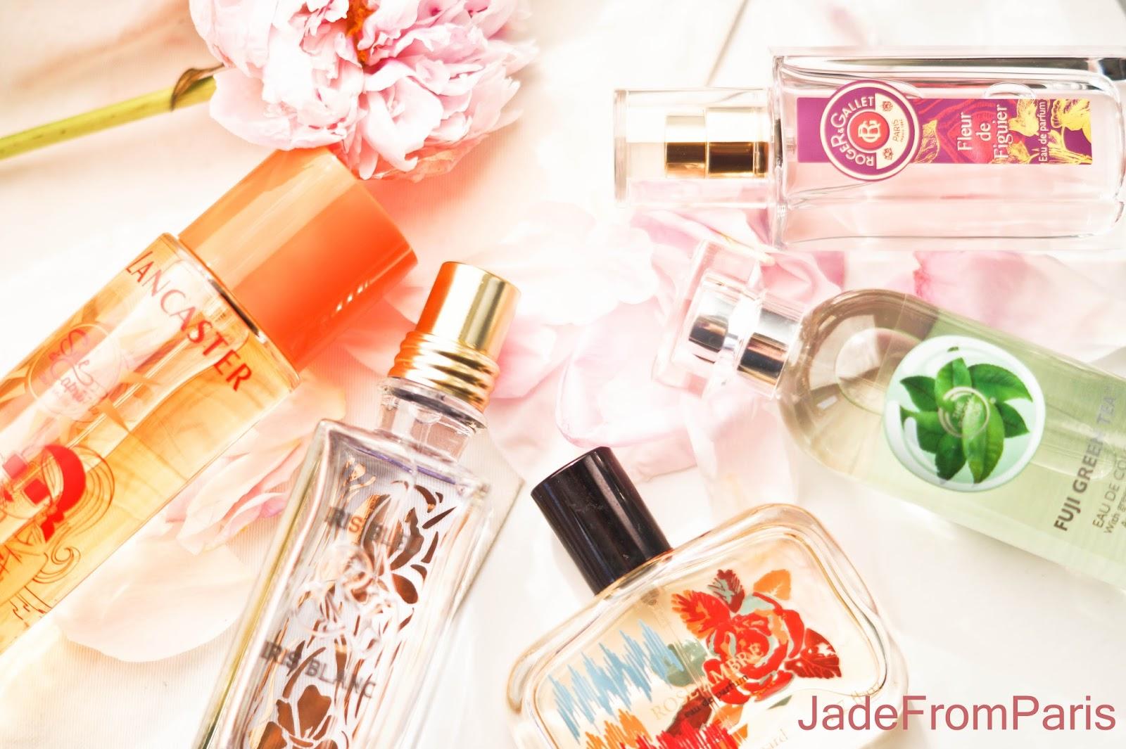 parfums de printemps 2015