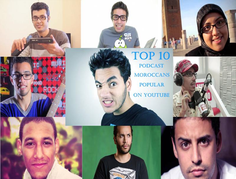 10 بودكاست مغاربة الأكثر شعبية على موقع يوتيوب