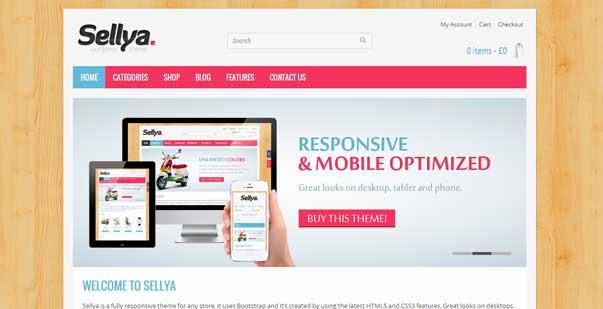 Sellya - Responsive WooCommerce Theme