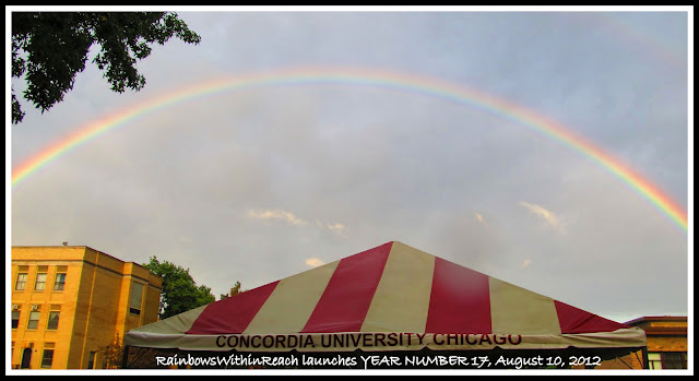 photo of: Rainbow Sky to Launch a New Year at RainbowsWithinReach