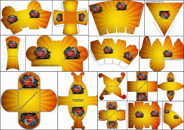 Ninjago: Free Printable Boxes. - Oh My Fiesta! for Geeks