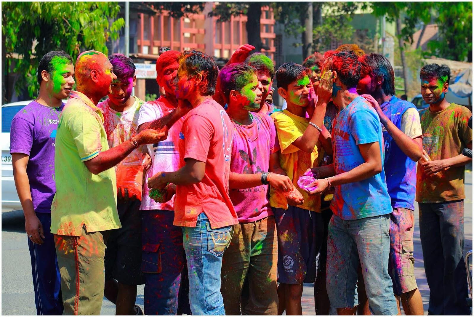 Holi Greetings Wallpaper Delhi Images