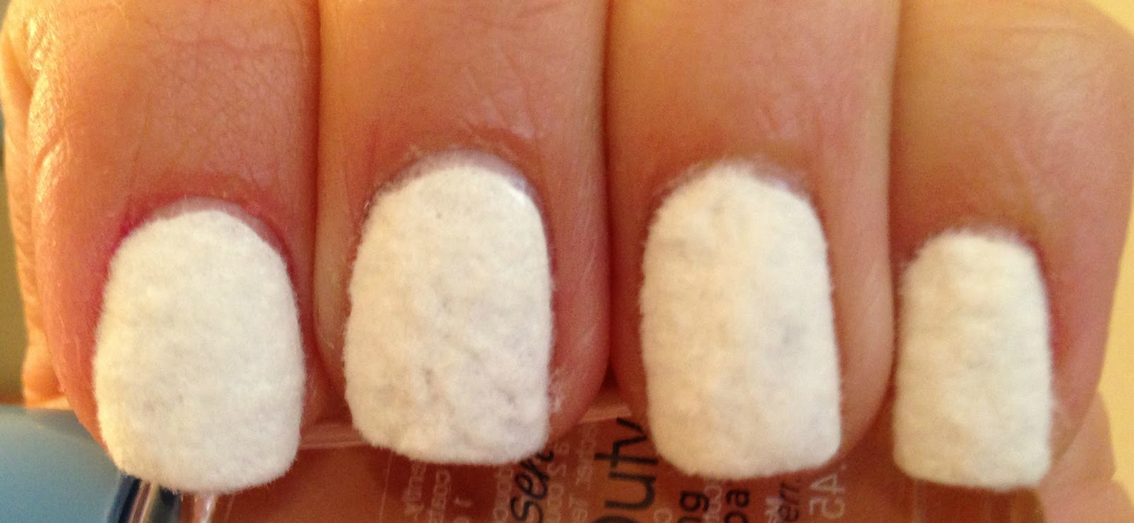 how to make flocking powder for nails at home