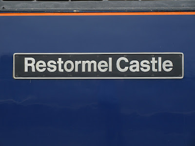 Class 57 - 57602 - Restormel Castle waiting to leave Penzance 17/6/2012