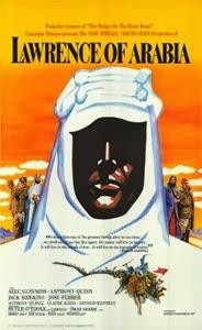Poster original de Lawrence de Arabia