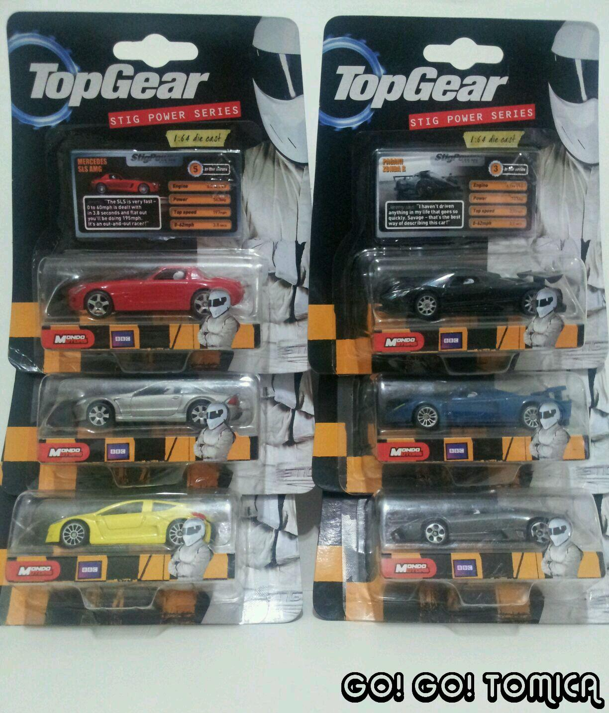 Go! Go! Tomica: Top Gear Stig Power Series