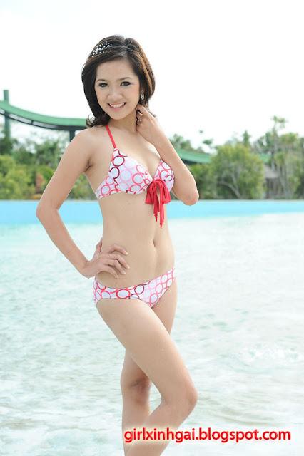 Hoa khôi áo tắm, miss bikini Vietnam, hình ảnh girl xinh bikini 20