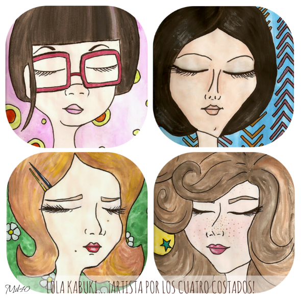 Lola kabuki ilustraciones