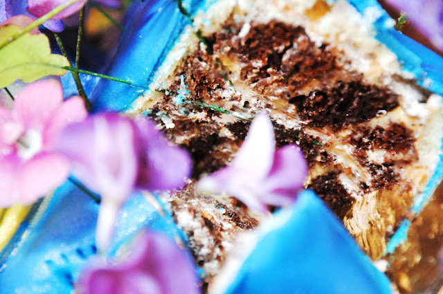 шоколадная начинка торта из мастики
