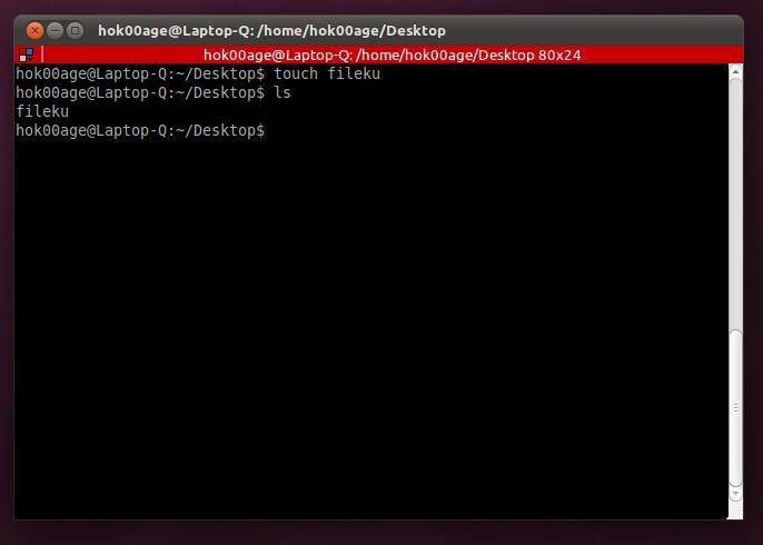 Manajemen file dengan baris perintah di Linux
